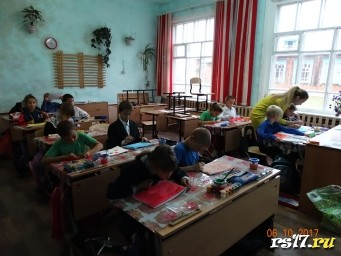Урок ИЗО во 2 классе. Учитель - Микрюкова Александра.