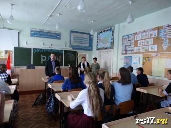 Поздравления ребятам от директора школы Бураченко Р.Б.