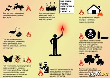 Меры безопасности при возникновении пожара