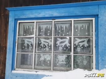 Новогодние окна нашего класса