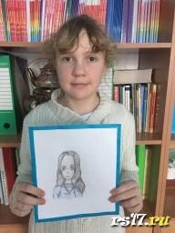 Портрет мамы Сони