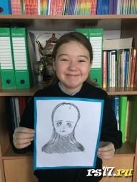 Портрет мамы Ангелины
