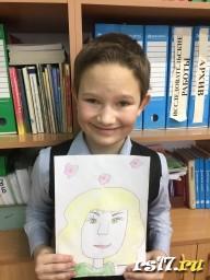 Это портрет Мамы Димы
