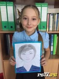 Портрет мамы Алены